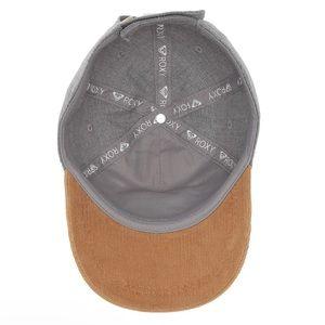 Roxy Accessories - Grey Roxy Dad Hat Women's OS Adjustable Corduroy